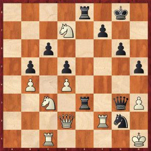 Nikolic-Kramnik Monte Carlo 1998 Variation 2 Move 32 White to move