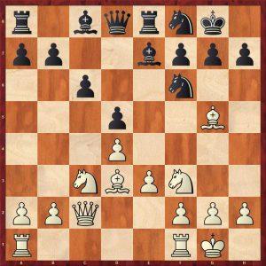 Petrosian-Beliavsky Moscow 1983 Move 11