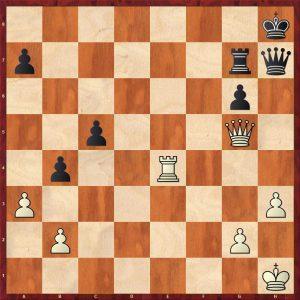 Petrosian-Beliavsky Moscow 1983 Variation 2 Move 38 Black to move