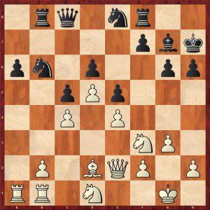 Petrosian-Hort Wijk aan Zee 1971 Move 19 White to play