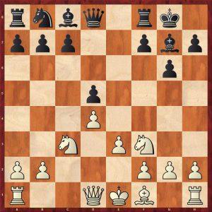 Petrosian-Krogius Tbilisi 1959 Move 10 White to play