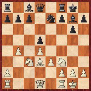Petrosian-Krogius Tbilisi 1959 Move 12 Black to play