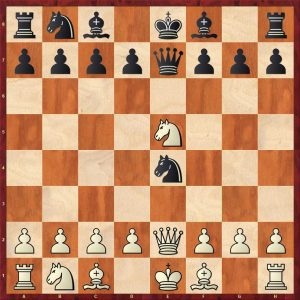 Petrov Copycat Variation Move 5 White to move