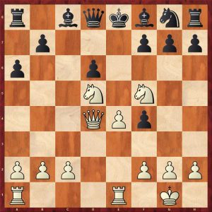 Position after 13.Qxd4!