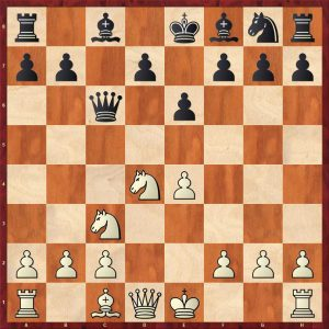 Position after 7.Nxd4