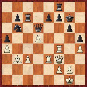 Smyslov-Liberzon Moscow 1969 Move 25 White to move