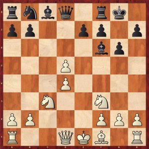 Smyslov-Liberzon Moscow 1969 Move 9 Black to move
