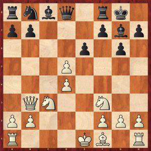 Smyslov-Liberzon Moscow 1969 Variation Move 11 White to move