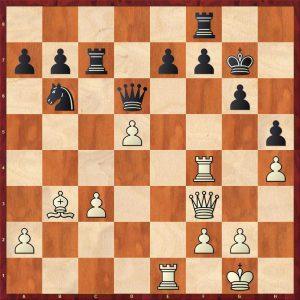 Smyslov-Liberzon Moscow 1969 Variation Move 20 White to move