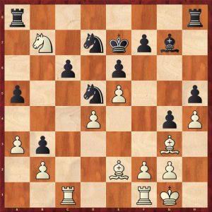 Sokolov-Novikov Variation 2 Move 22