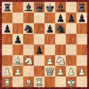 Spassky - Avtonomov Leningrad 1949 Move 10 Black to move