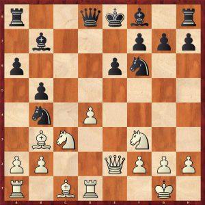 Spassky - Avtonomov Leningrad 1949 Move 12 White to move