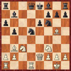 Spassky - Avtonomov Leningrad 1949 Move 13 Black to move