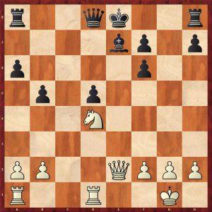 Spassky - Avtonomov Leningrad 1949 Move 17 Black to move