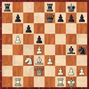 Taimanov-Nezhmetdinov Kiev Move 19 White to play