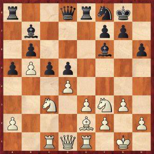 Topalov-Kramnik Linares 1998 Move 17 White to move