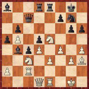 Topalov-Kramnik Linares 1998 Varaition 1 Move 28 White to move