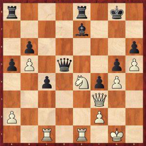 Topalov-Kramnik Linares 1998 Variation 2 Move 32 Black to move