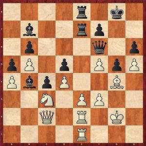 Topalov-Kramnik Linares 1998 Variation 2 Move 36 Black to move