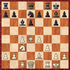 Tukmakov-Velimirovic Odessa 1975 Move 13 White to move