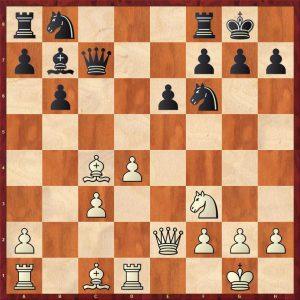 Vladimirov-Kasparov Batumi 2002 Move 13 White to move