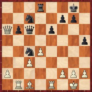 Vladimirov-Kasparov Batumi 2002 Move 24 White to move