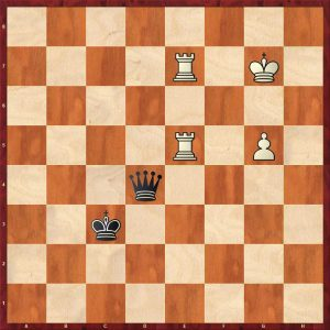 2R+P v Q Instructive example move 13