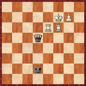 2R+P v Q Instructive example move 20