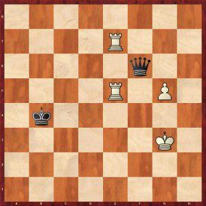 2R+P v Q Instructive example move 6
