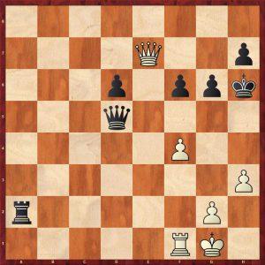 Blau - Fischer Varna 1962 Move 35 White to move