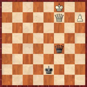 Carlsen-Gashimov Move 78 Black to play