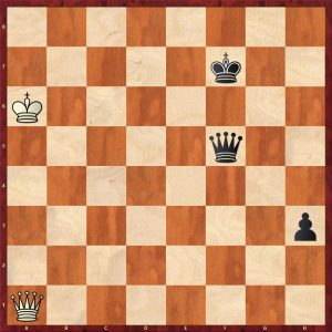 Ed. Lasker-Marshall USA 1923 Move 80 White to play