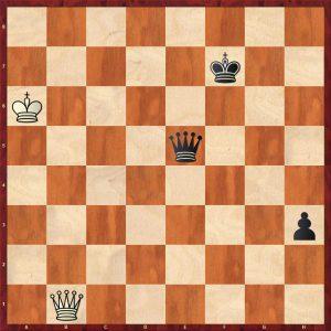 Ed. Lasker-Marshall USA 1923 Move 81 Black to play