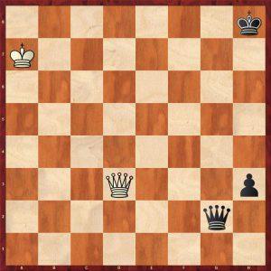 Ed. Lasker-Marshall USA 1923 Move 88 White to play