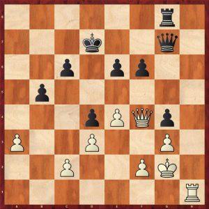 Fischer - Benko 1959 Move 33 White to move