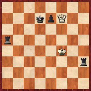 Fischer - Matthai Montreal 1956 Move 90 Black to move