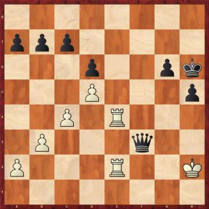 Giri - Aronian Leuven 2018 Move 35 Black to move