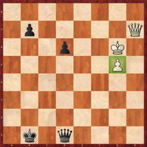 Kasparov - The World Internet 1999 Move 51 Black to play