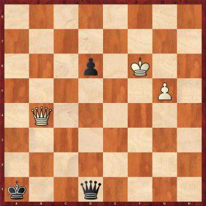 Kasparov - The World Internet 1999 Move 54 Black to play