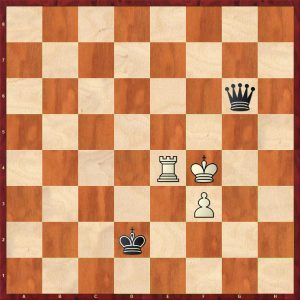 Queen v Rook + Pawn Breaking the Fortress Move 24 White to move