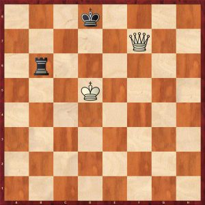 Queen v Rook Third Rank Defence