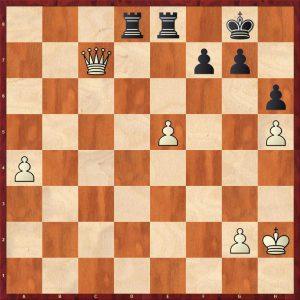 Shirov - Anand Linares 1998 Move 41 Black to move