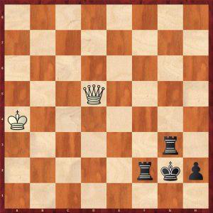 Tiviakov - Van der Wiel Leiden 2011 Move 126 Black to move