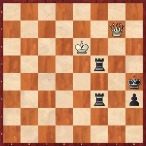 Vovk - Savchenko Move 90 White to play