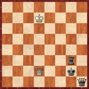 Vovk - Savchenko Variation 1 Move 98 Black to play