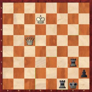 Vovk - Savchenko Variation 2 Move 104 Black to play