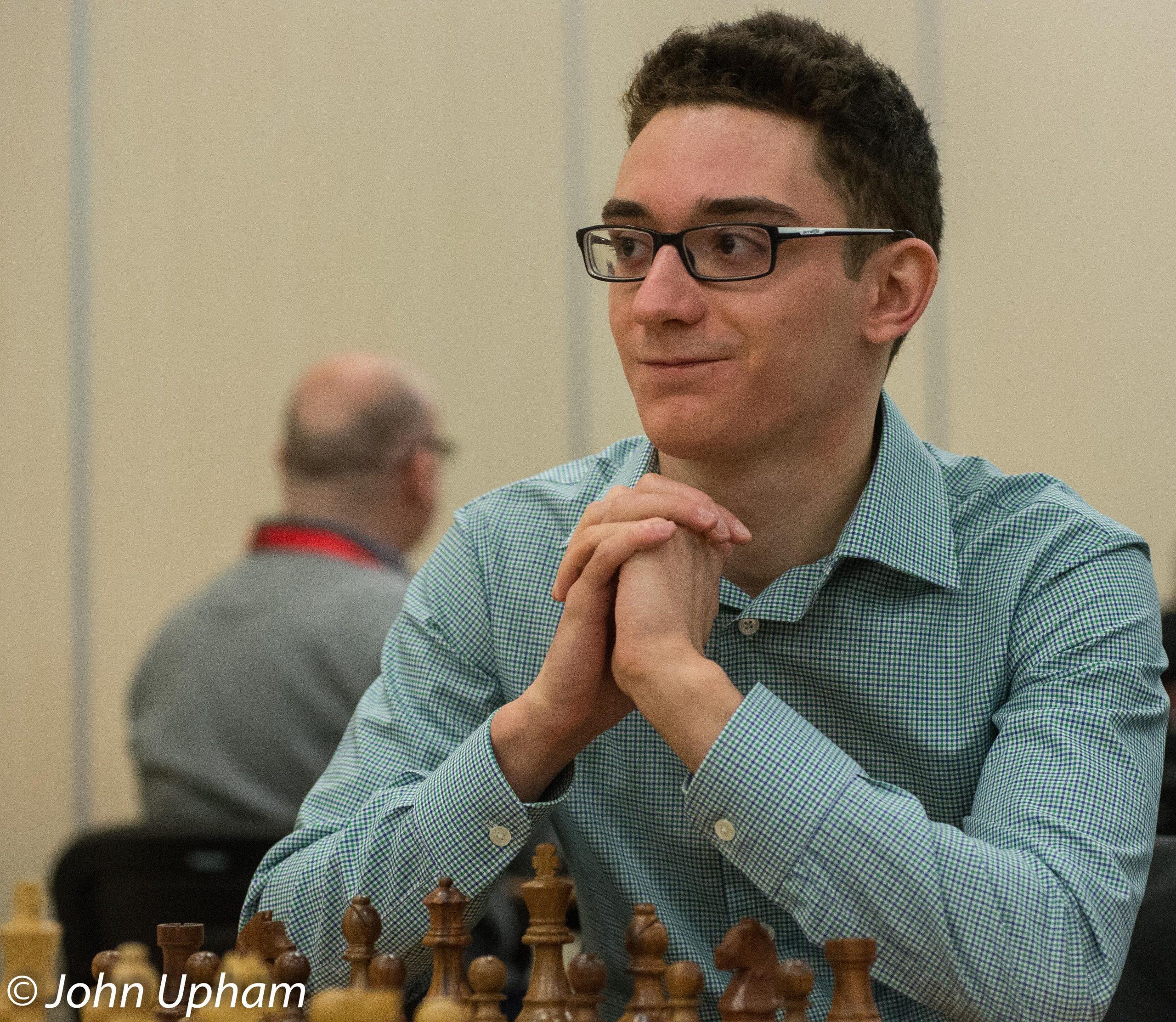 GM Fabiano Caruana, London Chess Classic 2014, courtesy of John Upham Photography