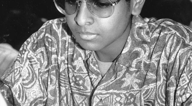 Birthday of GM Dharshan Kumaran (07-vi-1975)