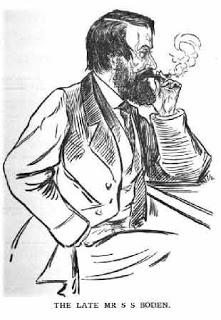 Death Anniversary of Samuel Boden (04-v-1826 13-i-1882)