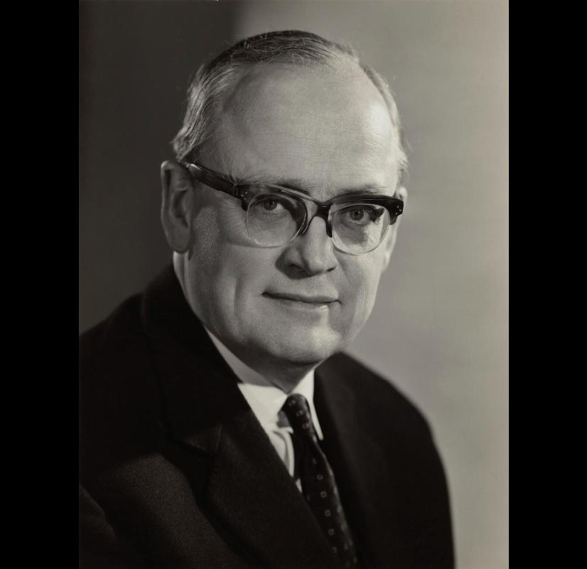 Sir Richard William Barnes Clarke (13-xiii-1910 21-vi-1975), National Portrait Gallery, Walter Bird